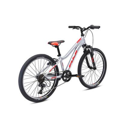 Fuji Dynamite 24 Sport Kids Mountain Bike 2021 Silver Rear