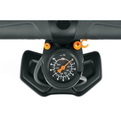 SKS Airworx 10.0 Orange Floor Pump Gauge