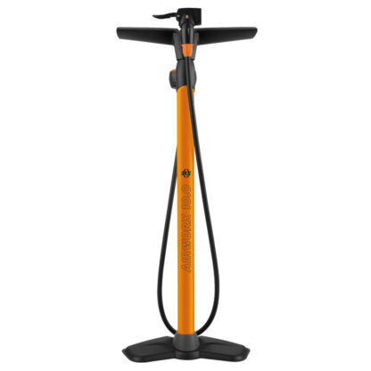 SKS Airworx 10.0 Orange Floor Pump Front on