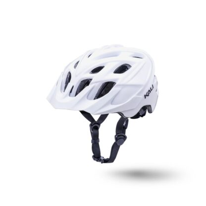 Kali Chakra Solo Helmet Solid White Front