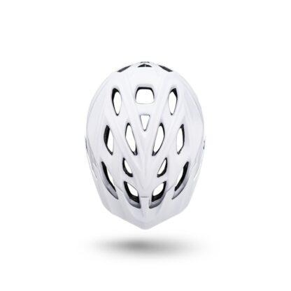 Kali Chakra Solo Helmet Solid White Top