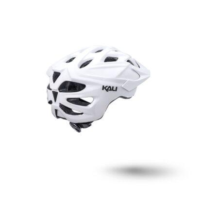 Kali Chakra Solo Helmet Solid White Rear