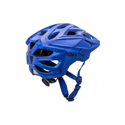 Kali Chakra Solo Helmet Solid Blue Rear