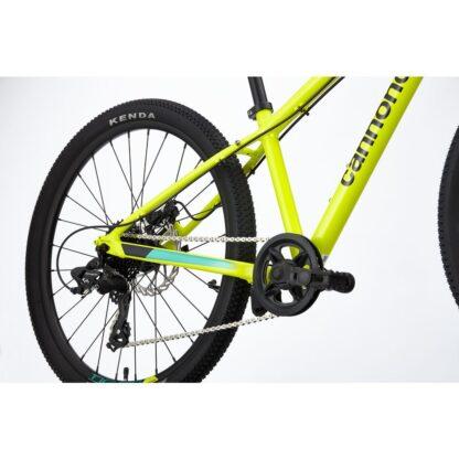 Cannondale Trail 24 Kids' Bike 2021 | Nuclear Yellow Rear
