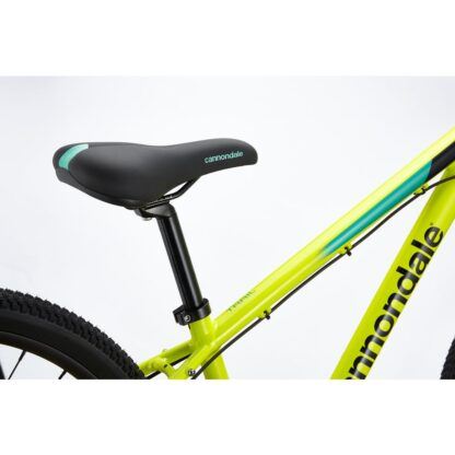 Cannondale Trail 24 Kids' Bike 2021 | Nuclear Yellow Seat