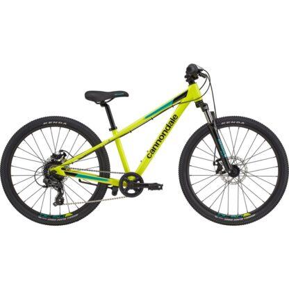 Cannondale Trail 24 Kids' Bike 2021 | Nuclear Yellow Hero