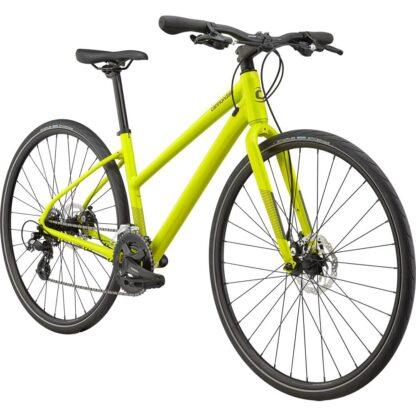 Cannondale Quick Women's 5 Remixte Flat Bar Road Bike 2021 Front