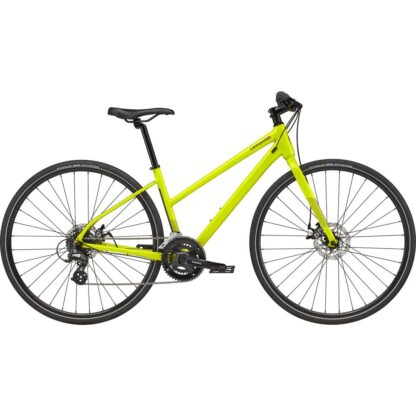 Cannondale Quick Women's 5 Remixte Flat Bar Road Bike 2021 Hero
