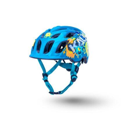 Kali Chakra Child Helmet Monsters Blue Front