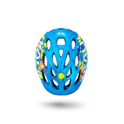 Kali Chakra Child Helmet Monsters Blue Top