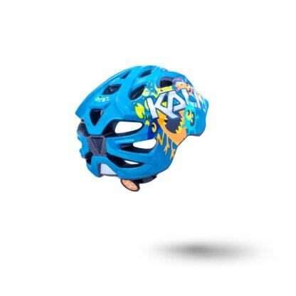 Kali Chakra Child Helmet Monsters Blue Rear