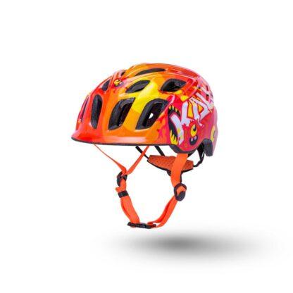 Kali Chakra Child Helmet Monsters Orange