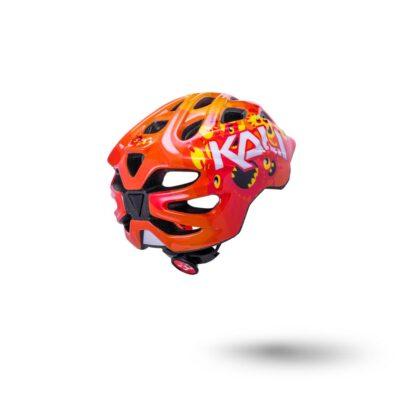 Kali Chakra Child Helmet Monsters Orange Rear