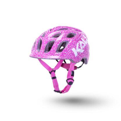 Kali Chakra Child Helmet Sprinkles Pink Front