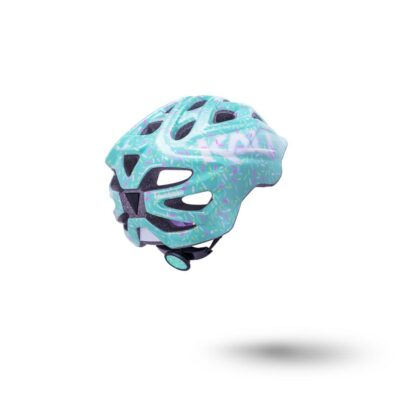 Kali Chakra Child Helmet Sprinkles Mint Rear