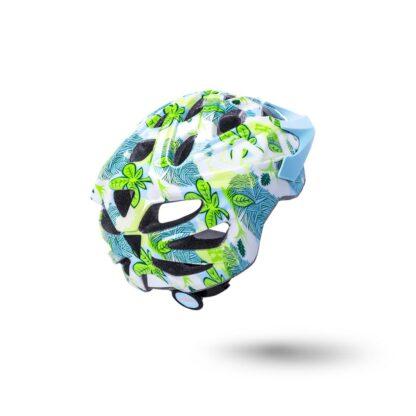 Kali Chakra Youth Helmet Flora - Gloss Blue REAR