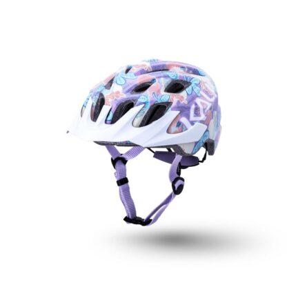 Kali Chakra Youth Helmet Flora - Gloss Purple Front
