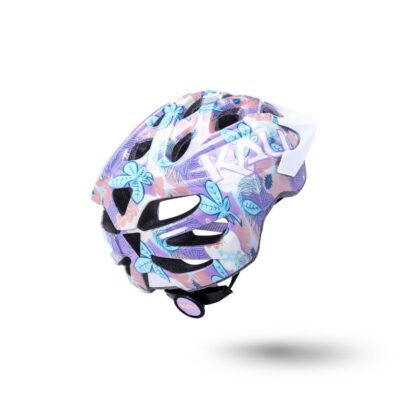 Kali Chakra Youth Helmet Flora - Gloss Purple Rear