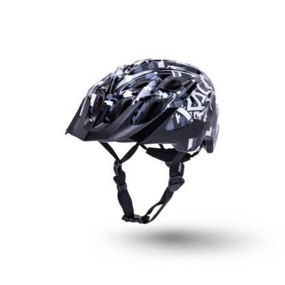 Kali Chakra Youth Helmet Pixel - Gloss Black Front