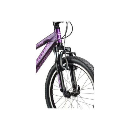 Mongoose Rockadile 20 Kids' Bike 2021 | Purple Front Wheel