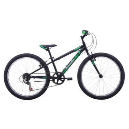 Malvern Star Mustang 24 Kids Bike 2021 Black Green