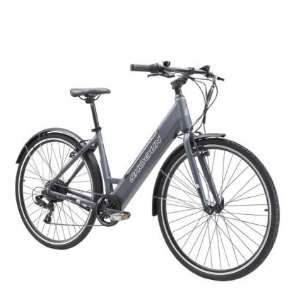 Shogun EB1 Step Through e-Bike | Charcoal Front