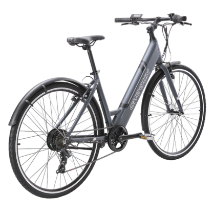 Shogun EB1 Step Through e-Bike | Charcoal Rear